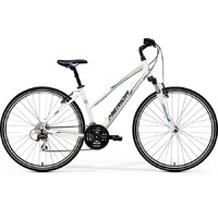 Велосипед Merida Crossway 20V Lady White/Blue/Black (2017)