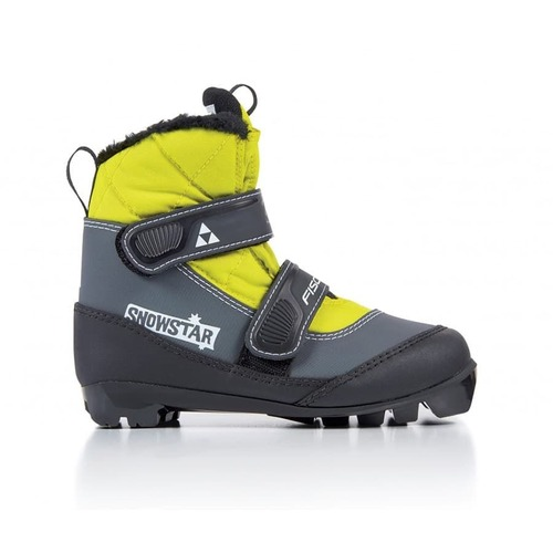 Ботинки NNN Fischer SNOWSTAR BLACK YELLOW S41017