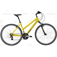 Велосипед Merida Crossway 10-V Lady (2016) Matt Yellow/Black