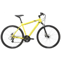 Велосипед Merida Crossway 15-MD SilkBrightYellow(Black) 2020