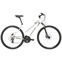 Велосипед Merida Crossway 15-MD Lady GlossyWhite(Black/Grey) 2020