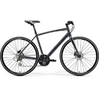Велосипед Merida Crossway Urban 20-D Fed DarkSilver/Lime 2020