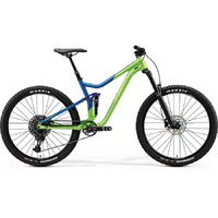 Велосипед Merida One-Forty 400 LightGreen/GlossyBlue 2020
