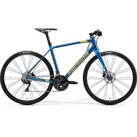 Велосипед Merida Speeder 400 SilkOceanBlue/Gold/Black 2020