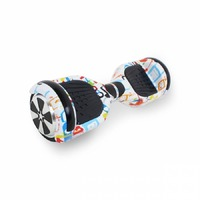 Гироборд Hoverbot A-3 LED Light white multicolor