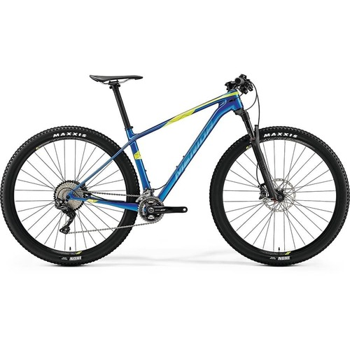 Велосипед Merida Big Nine XT Blue (Green) 2019