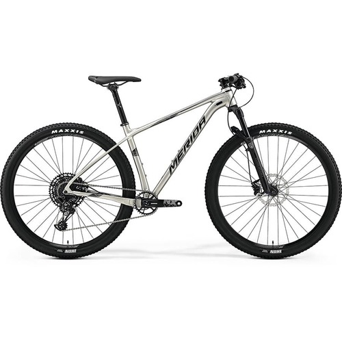 Велосипед Merida Big Nine NX Edition SilkTitan (Silver) 2019